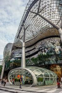 ION, das grösste Einkaufscenter an der Orachad Road, Singapure, Roland Hartmann