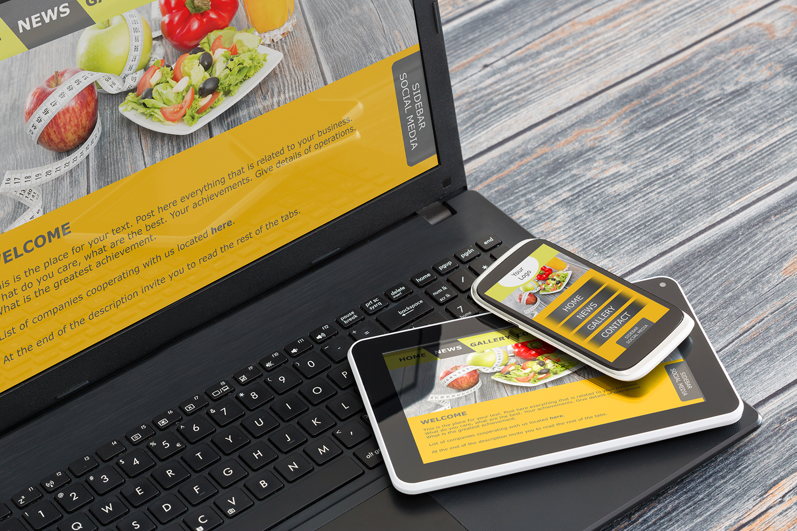 marketingagentur.ch Responsive Web Design